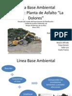 Línea Base Planta de Asfalto