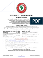 Elephants CateringMenu Summer2014 July
