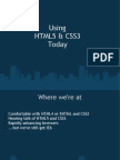 Html5 Css3 Today