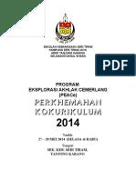 Buku Perkhemahan 2014