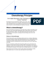 Basic Principle of Chemotherapy