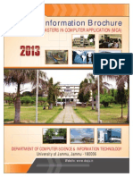 Mca Information Brochure 2013