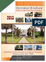 Mca Information Brochure 2013