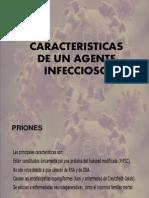 Caracteristicas de Un Agente Infeccioso