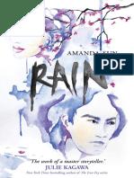 Rain by Amanda Sun - Chapter Sampler