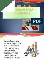 Desarrollo Físico y Emocional en La Dolescencia