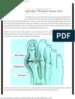 9 Cara Menghindari Penyakit Asam Urat _ DokterGaul.com