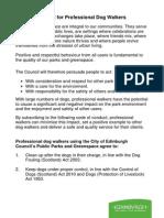 Edinburgh Council Code of Conduct