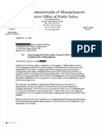 Massachusetts Department of Public Safety - 287(g) FOIA Documents