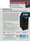 SRCOOL12K Cooling Solutions Flyer Spanish