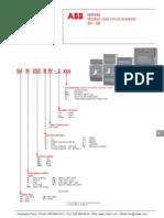 Abb Isomax s3-s8 Circuit Breaker Datasheet