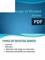 Design of Riveted Joints
