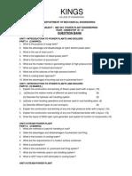 Scribleindia EE2252 Power Plant Engineering Question Bank