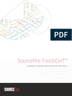 Sourcefire FireSIGHT White Paper