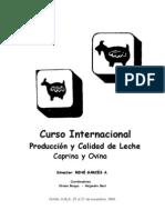 Leche Cabras y Ovejas Curso Internacional