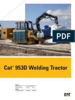 953d Welding Tractor Brochure in English