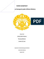 Material Komposit Li-ion Battery