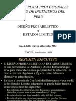 Diseño Probabilistico a Estados Limites