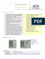 F06-NX AC Deluxe Thermostat-Datasheet