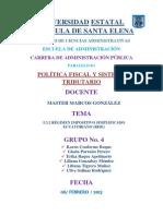 5.3.2 Régimen Impositivo Simplificado Ecuatoriano (Rise)