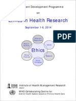 Ethics in Health Research
