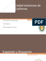 Expansion y Disyuncion