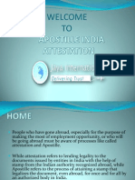Provider Apostille India Attestation