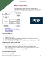 FPGA Design Flow Overview