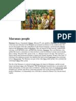 Maranao peopleasd