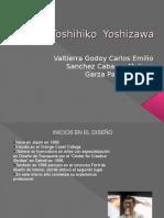 Analisis yTendencias del diseño Toshihiko  Yoshizawa