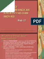 Bab 12 - Kreativitas Dan Inovasi