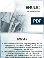 emulsi (ilmu meracik obat) - slide - Ogi Nurhari