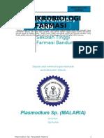 Mikrobiologi Farmasi - Plasmodium Sp. (malaria) - Ogi NH