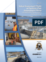 Value Assessment Study at Facilities Plan