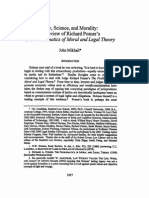 Mikhail, John - Law, Science and Morality a Review of Richar Posner