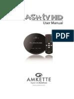 FlashTV HD - Manual - Revb