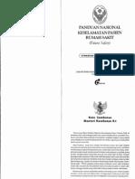 Panduan Nasional Keselamatan Pasien RS - Persi 2008