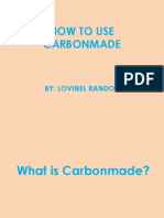 How to Use Carbonmade