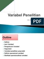 KTI - Variabel Penelitian (1)