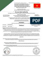 The Moorish Science Temple of America-De Jure Business Authority-SIS MELKIYAH Court Clerk_ANNOUNCEMENT