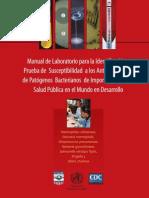CDC Manual de Laboratorio de Microbiología