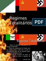 Apresentação - Regimes Totalitários