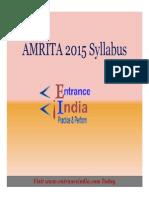 AMRITA Engg by Entranceindia PDF