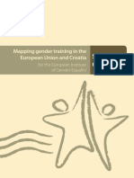 Mapping Gender Training in the European Union and Croatia