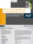 Liferay Case Studies  by  Leo TechnoSoft  Pvt Ltd