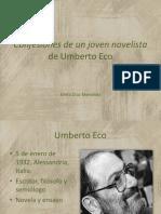Confesiones de Un Joven Novelista de Umberto Eco