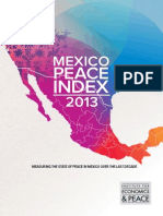 Mexico Peace Index 2013