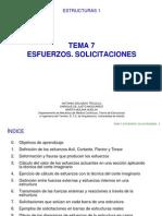 Tema 7 Estructuras