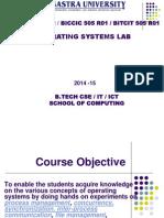 OS Lab Manual 2014
