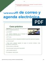 Correo y Agenda Fp